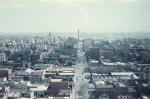 Melbourne from 18th storey of ICI building. Photo: William Prince